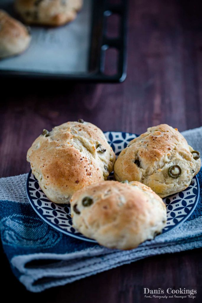 Feta and Olive buns