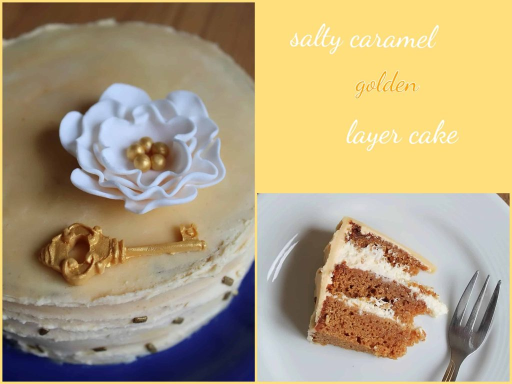 salty caramel golden layer cake - daniscookings.wordpress.com