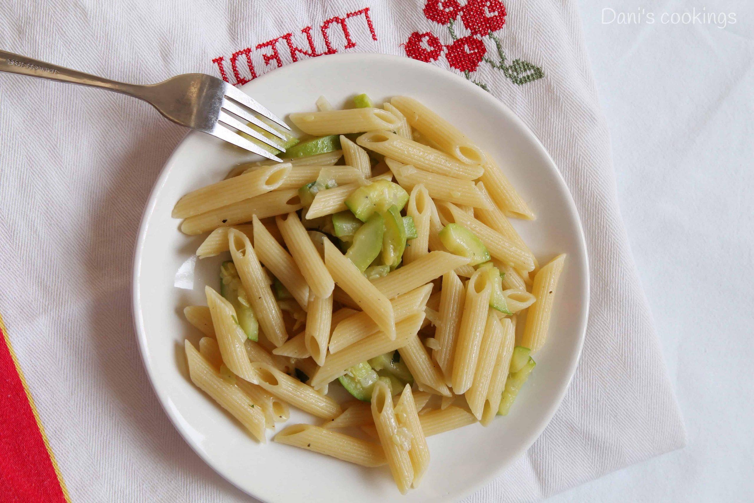 pasta with zucchini sauté - daniscookings.wordpress.com