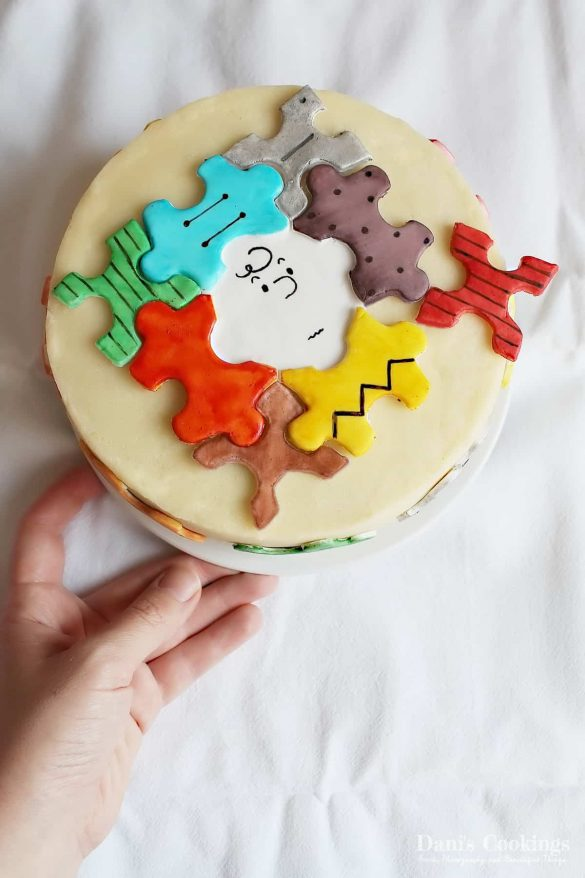 Puzzle Cake with Ricotta Filling