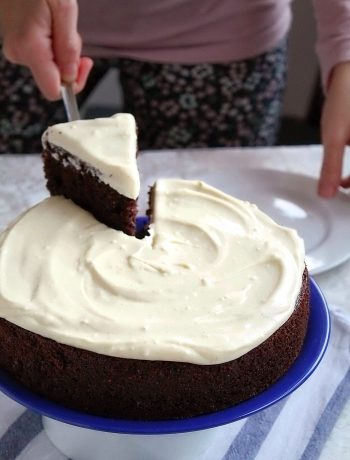easy double chocolate cake - daniscookings.com