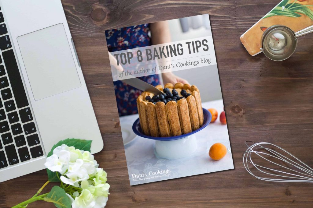 Free ebook with baking tips from Dani's Cookings