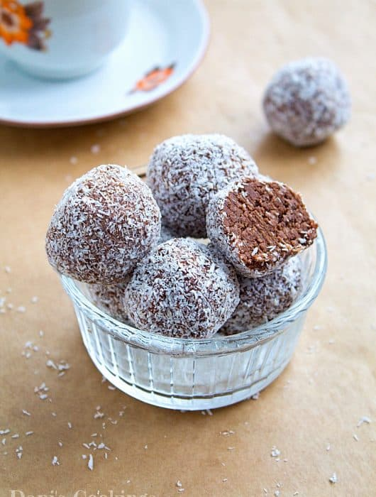 Delicious Coconut Peanut Butter Truffles | Dani' Cookings