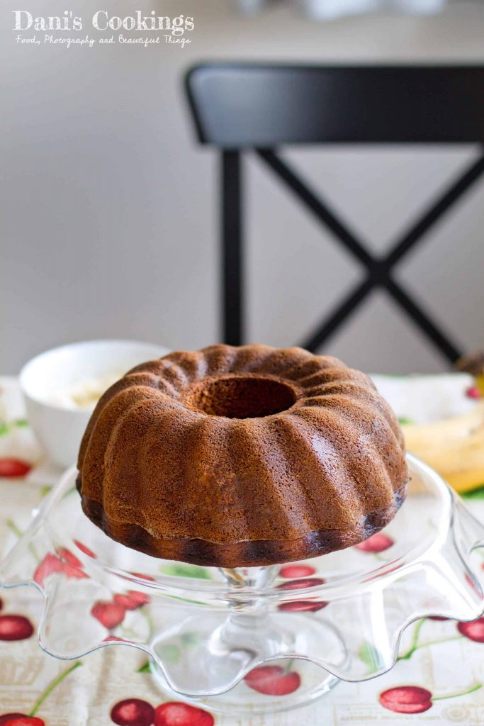 Banana Bundt Cake with Coconut Cream Cheese Frosting | Dani's Cookings
