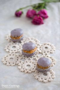 Cinnamon macarons with dulce de leche filling   Dani's Cookings