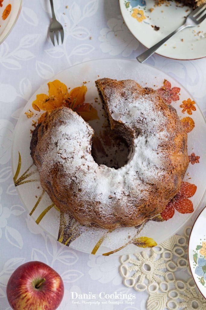 Apple Chocolate Marble Bundt Cake Dani S Cookings