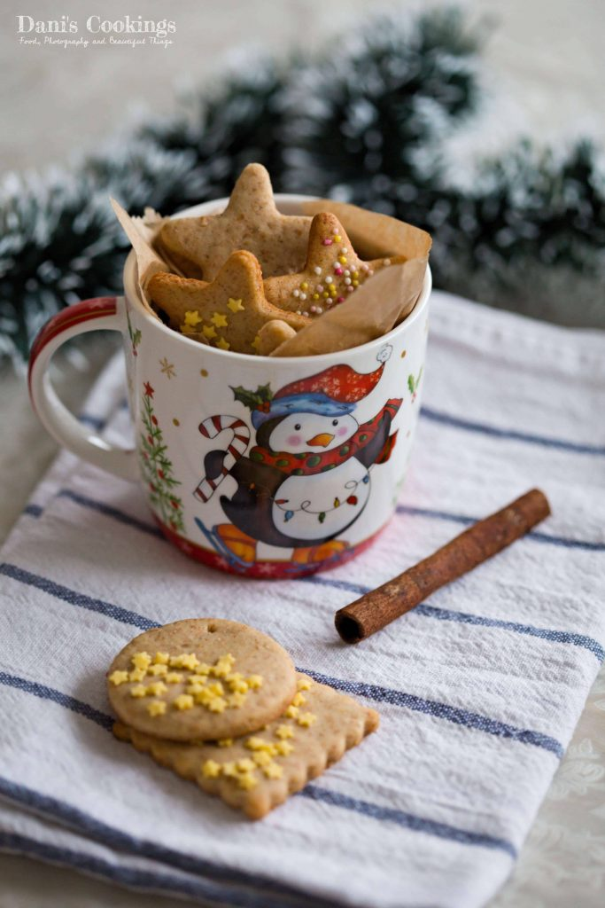 Last Minute Honey Gingerbread Cookies
