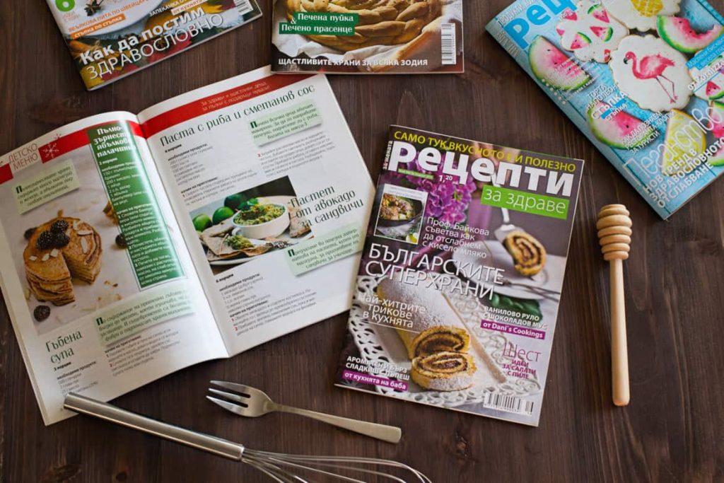 recepti za zdrave magazine