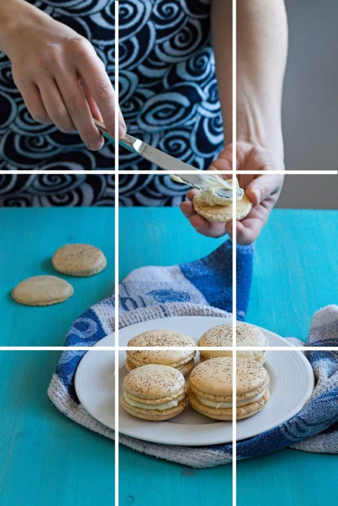 Food Photography Tips and basics - Rule of Thirds