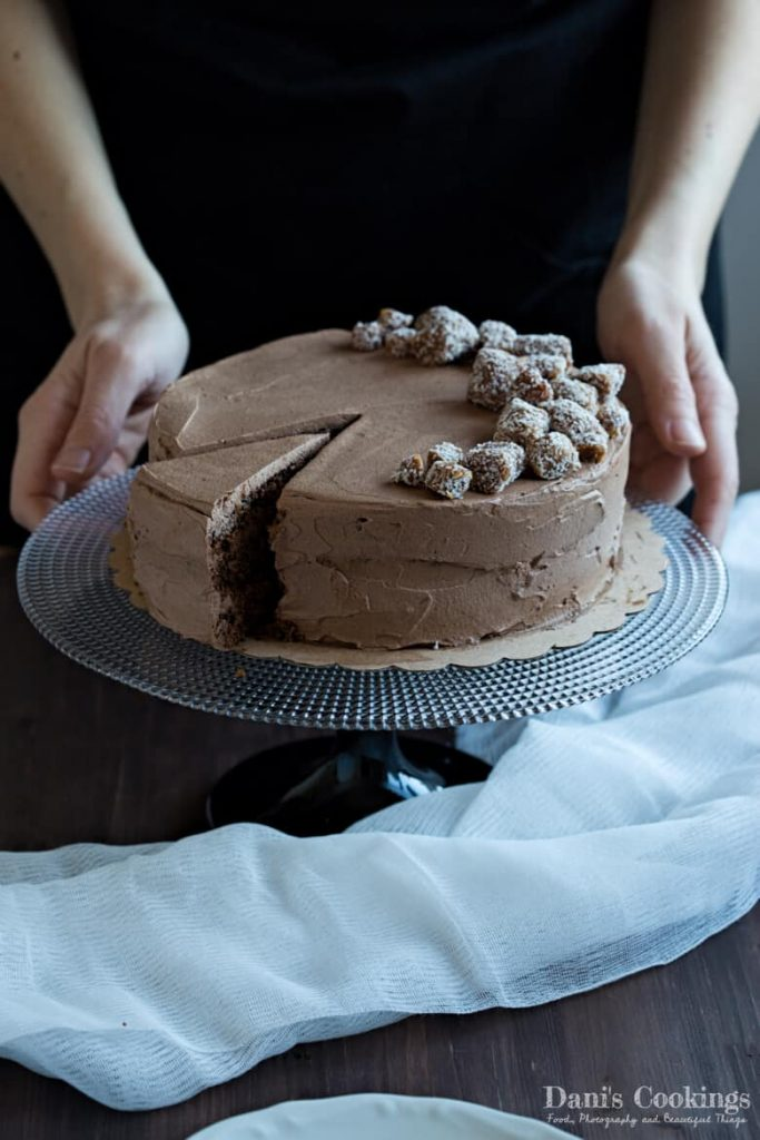 The Best Vegan Chocolate Cake - moist and tasty even without dairy and eggs