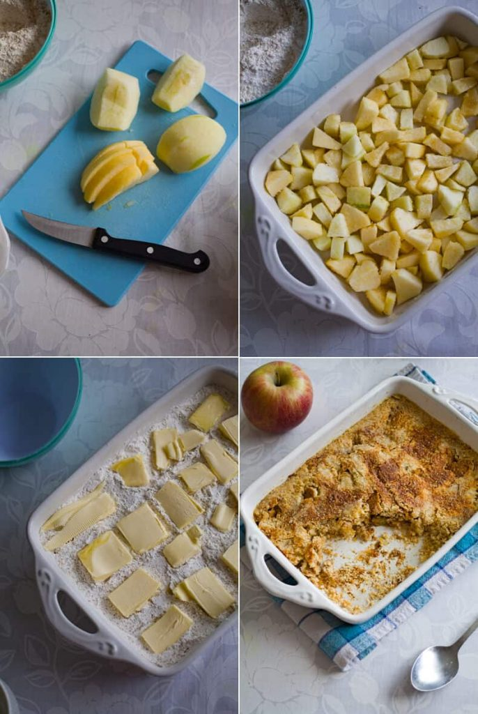 How to make easy Apple Dump Cake
