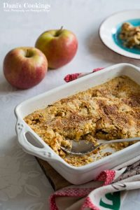Apple Dump Cake from Scratch