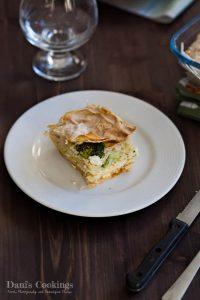 Broccoli Filo Pie