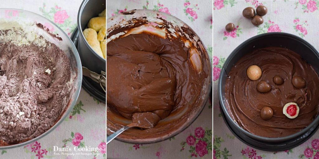 No Bake Chocolate Fudge Cake - how to make