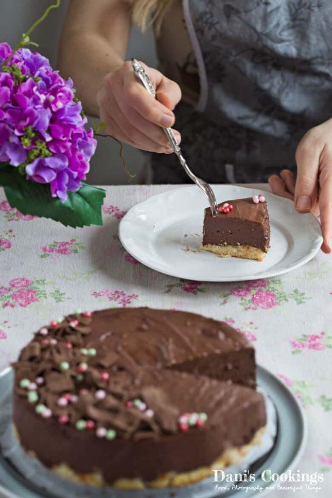 No Bake Chocolate Fudge Cake