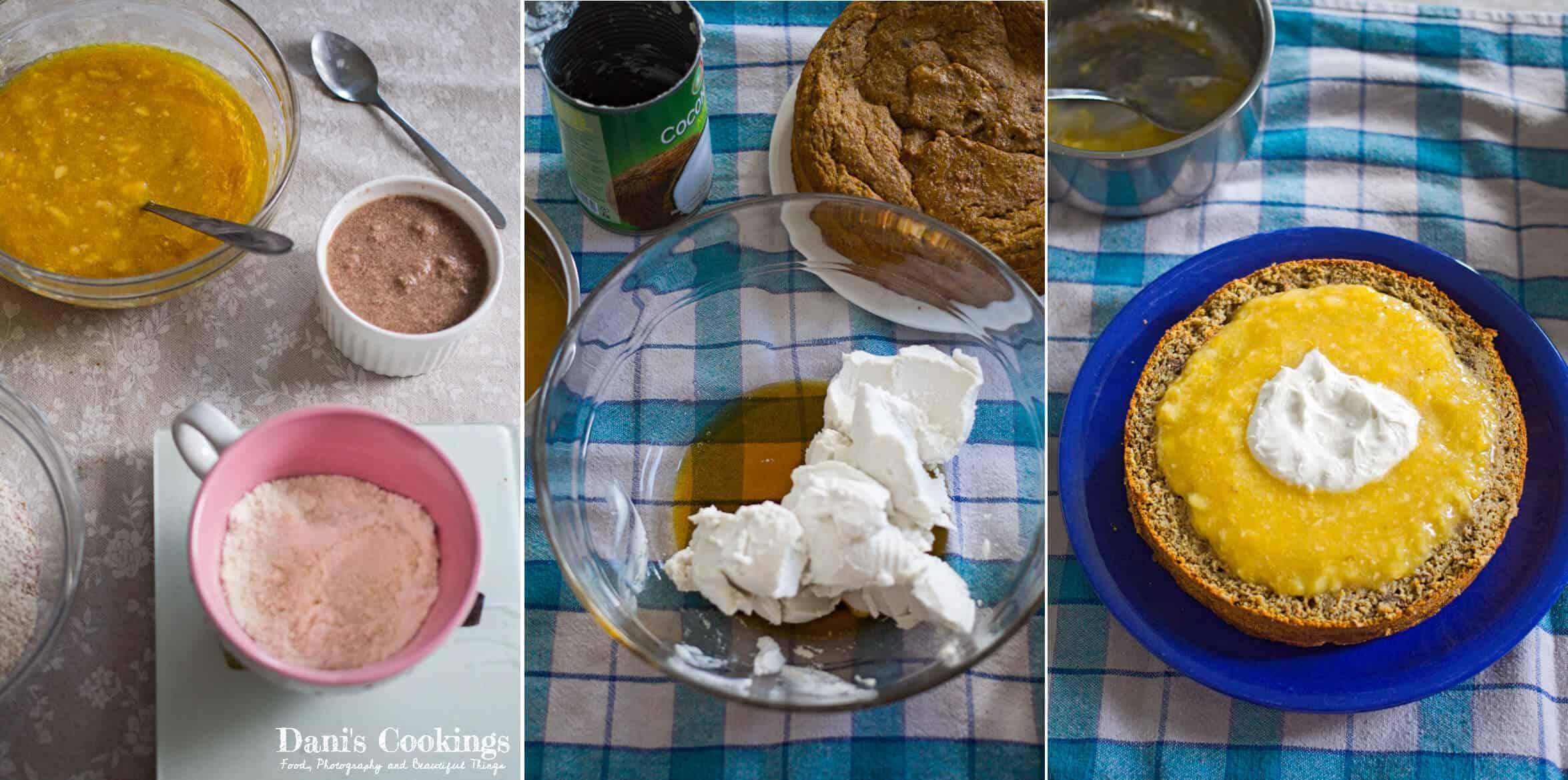 Step by step Banana Cake