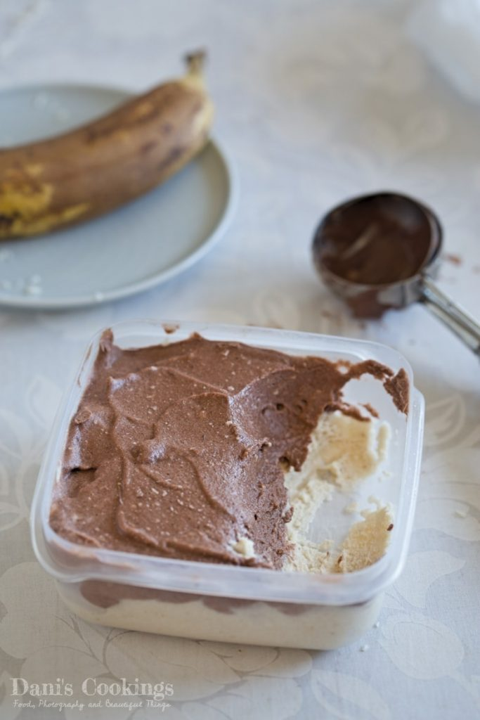 Healthy Coconut Chocolate Ice Cream
