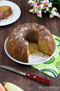 Zucchini Carrot Cake Recipe
