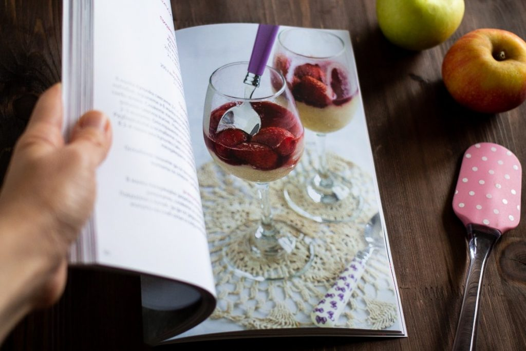cookbook photography