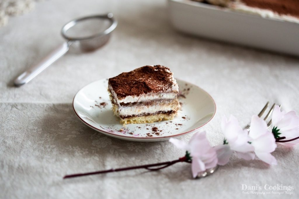 Tiramisu without eggs and alcohol