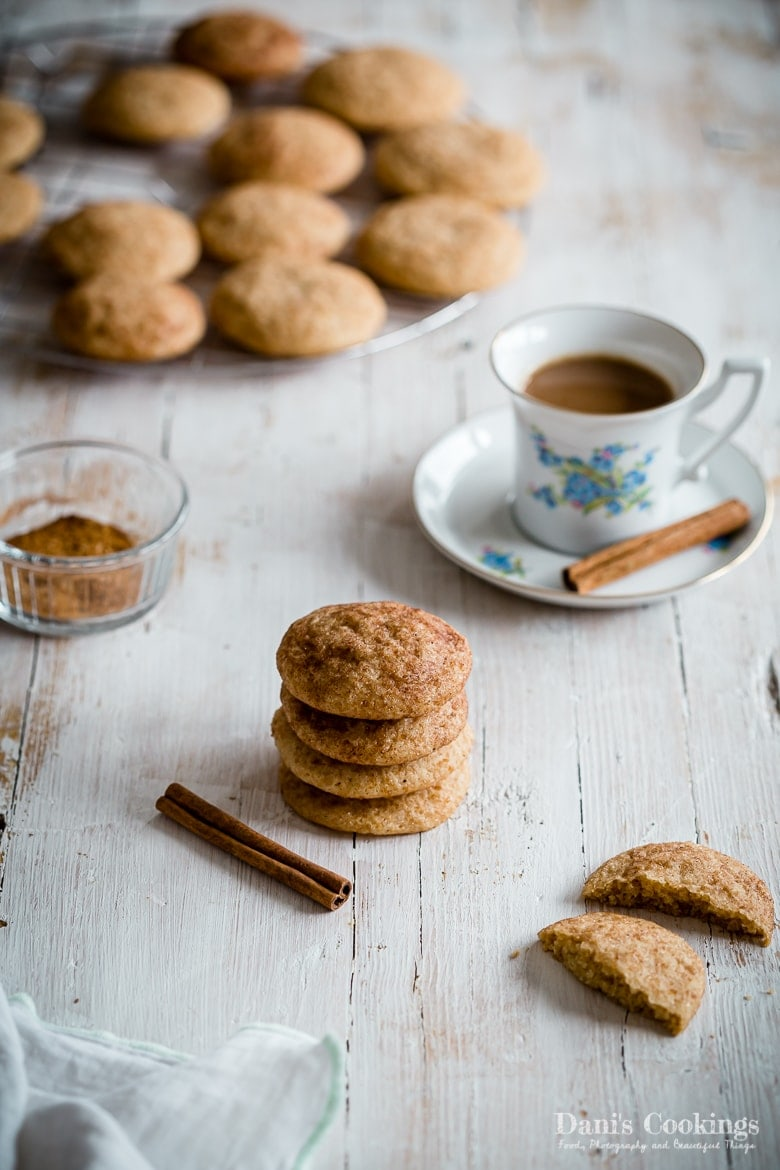 How to make Easy Snickerdoodle Cookies