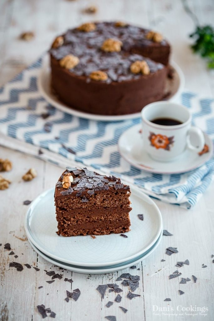 Keto Chocolate Walnut Cake - Garash