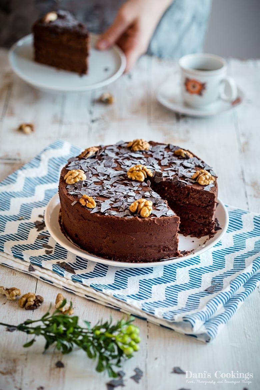 Keto Chocolate Walnut Cake – Garash