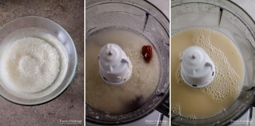 Rice milk step by step