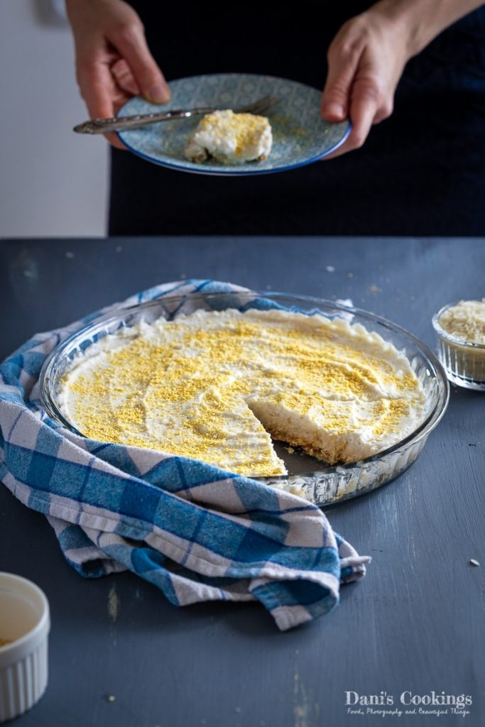 Vegan Coconut Cream Pie
