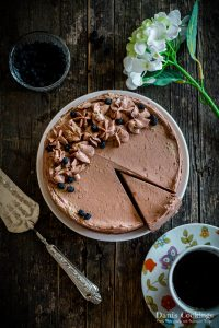 Keto Chocolate Cake with Mascarpone