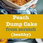 peach dump cake pin
