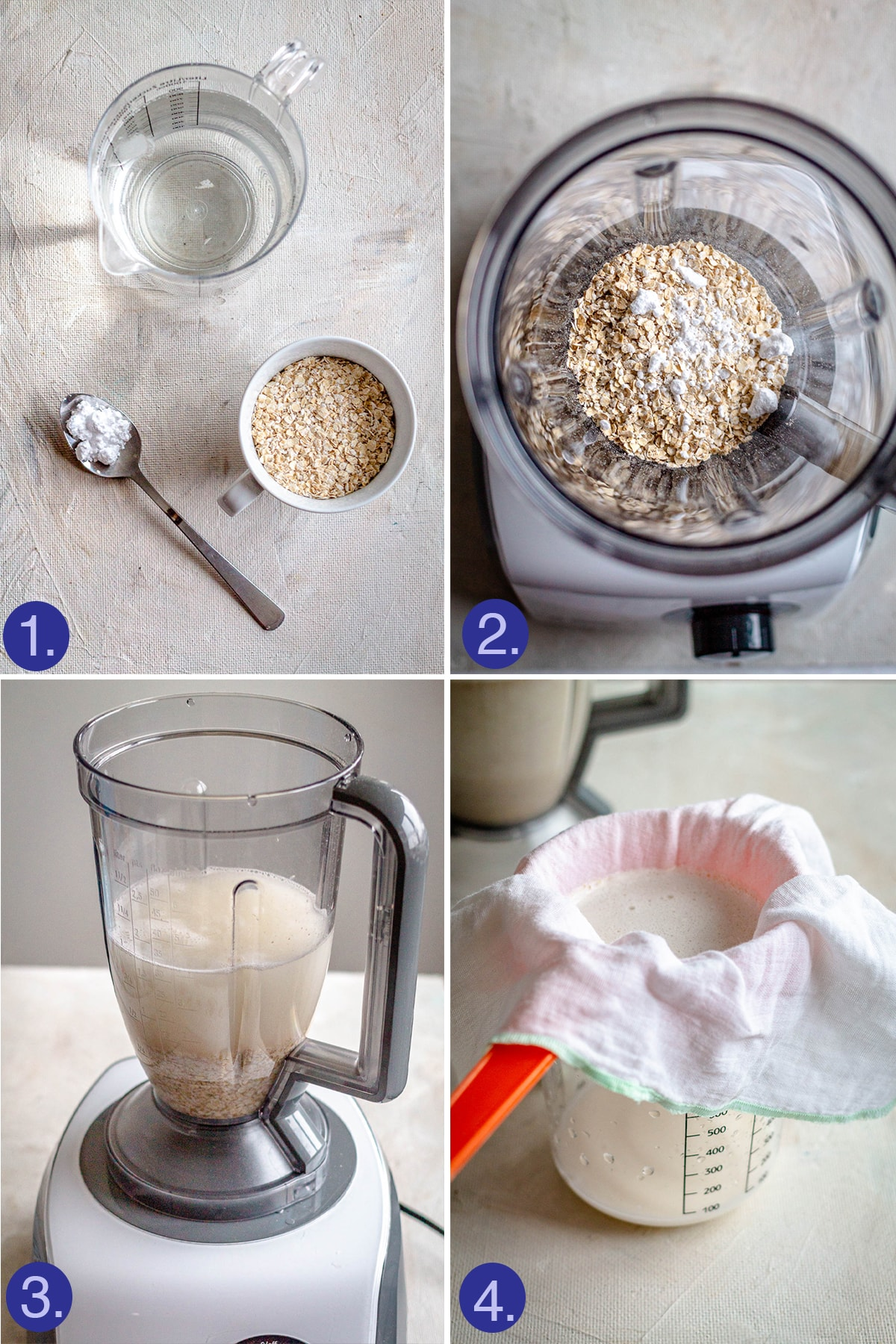steps to make the pat milk