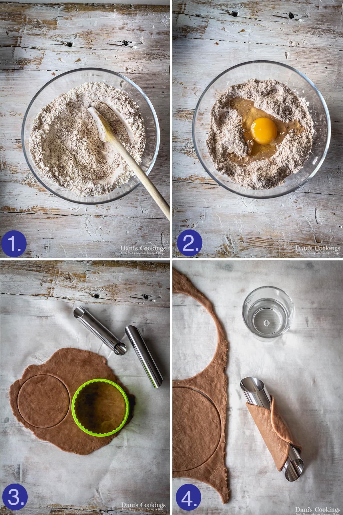steps to make cannoli shells