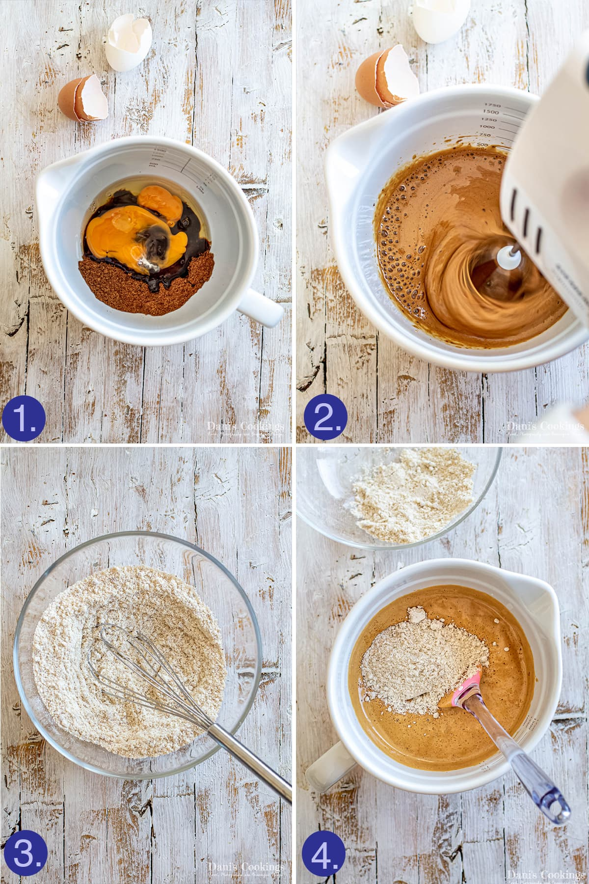 steps to make the madeleines dough