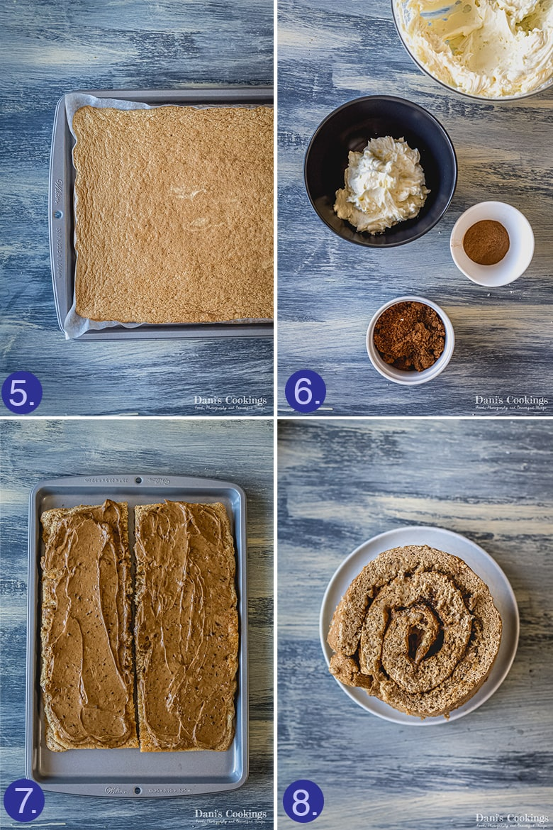 steps to assemble vertical cake