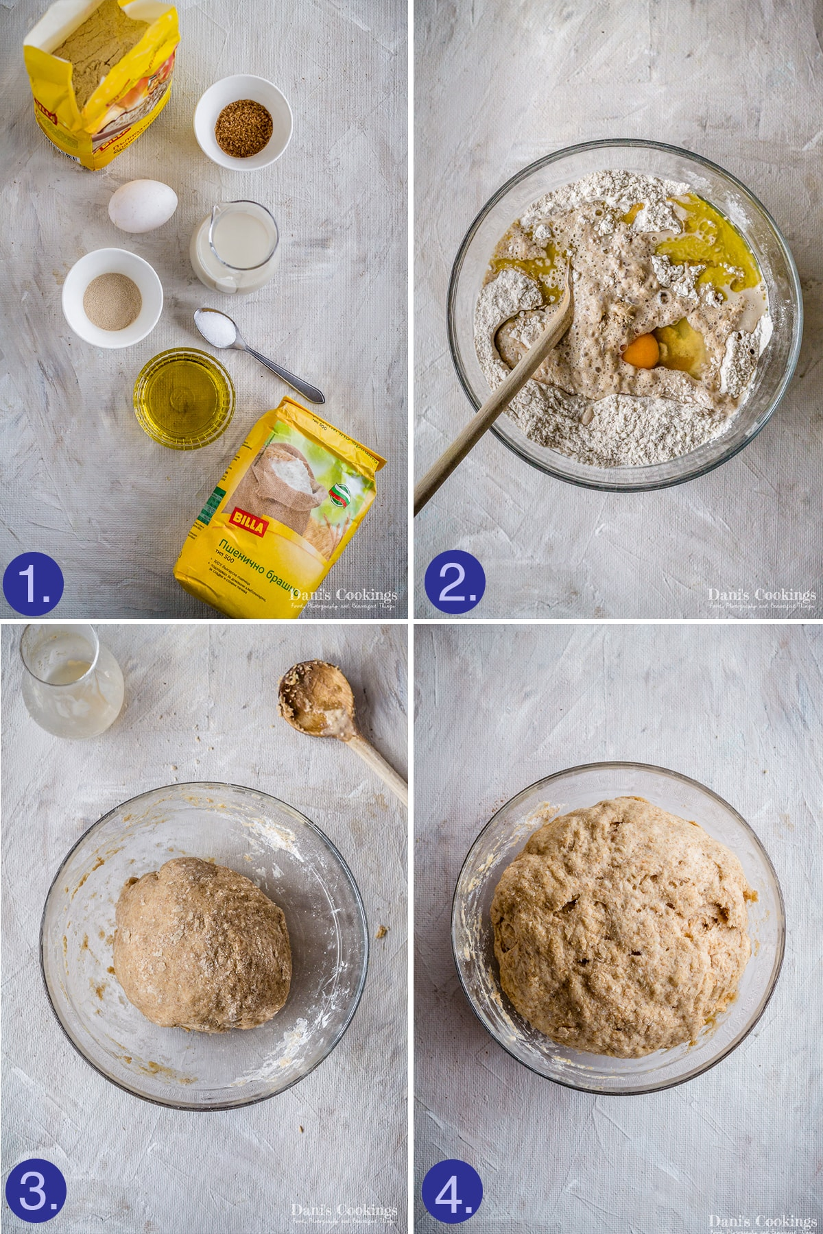 steps to make the dough
