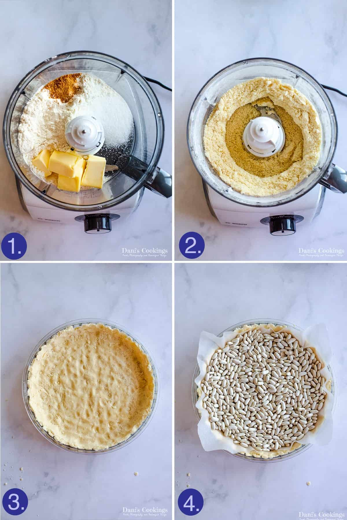 steps to make the crust