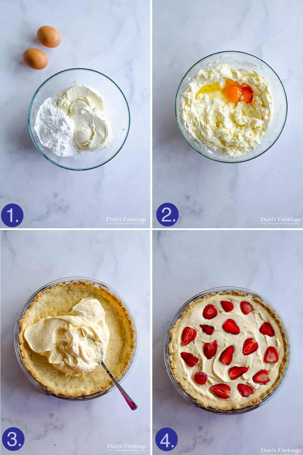 steps to make the filling