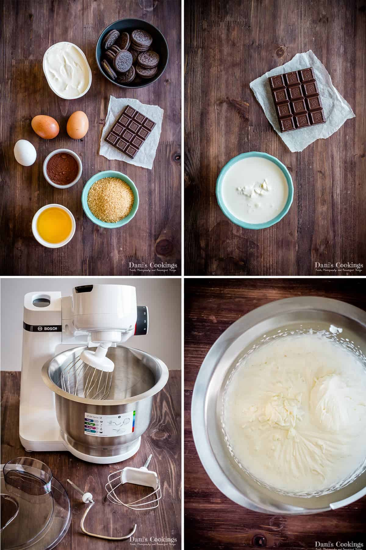 ingredients and steps for the recipe